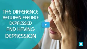 The Difference Between Feeling Depressed & Having Depression